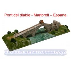 Maqueta Pont del diable Martorell