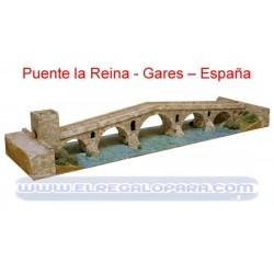 Maqueta Puente la Reina Gares