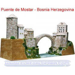Maqueta Puente de Mostar Stari Most