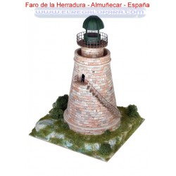 Maqueta Faro de la Herradura Almuñecar