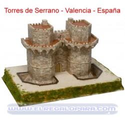 Maqueta Torres de Serrano Aedes Ars 1251