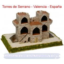 Maqueta Torres de Serrano