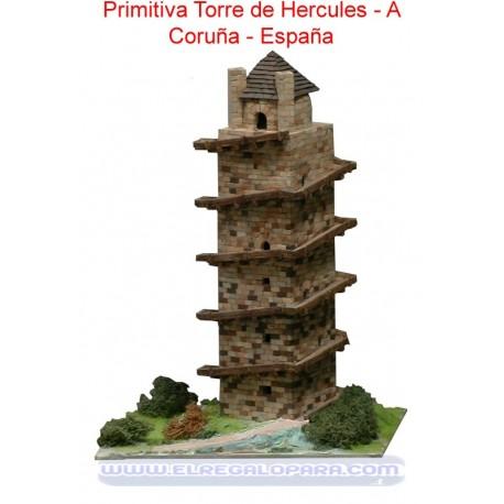 Maqueta Primitiva Torre de Hércules A Coruña