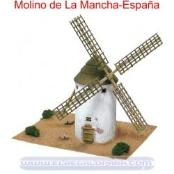 Maqueta Molino de la Mancha Castilla la Mancha
