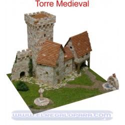 Maqueta Torre medieval Aedes Ars 1256