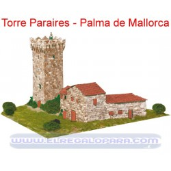Maqueta Torre de Peraires Palma de Mallorca