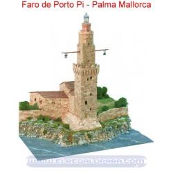 Maqueta Faro de Porto Pí Palma de Mallorca