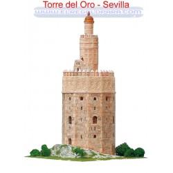 Maqueta Torre del Oro Sevilla