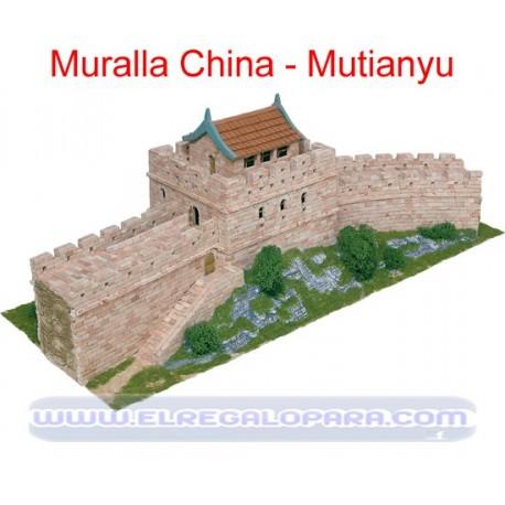 Maqueta Muralla China Mutianyu, Beijing