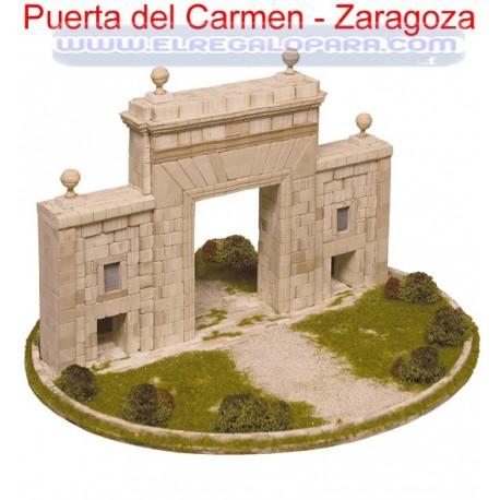 Maqueta Puerta del Carmen Zaragoza