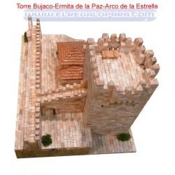 Maqueta Torre Bujaco Caceres