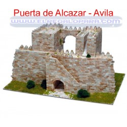 Maqueta Puerta del Alcázar Ávila