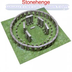 Maqueta Stonehenge Amesbury Inglaterra