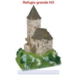 Maqueta Refugio grande HO