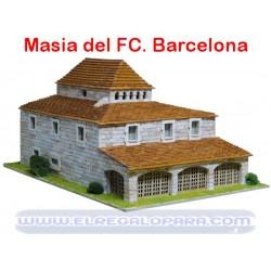 Maqueta Masia del Fútbol Club Barcelona