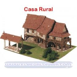 Maqueta Casas rurales