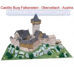Maqueta Castillo Burg Falkenstein Obervellach - Austria