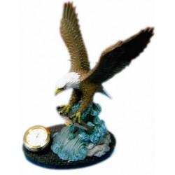 Reloj aguila decoración
