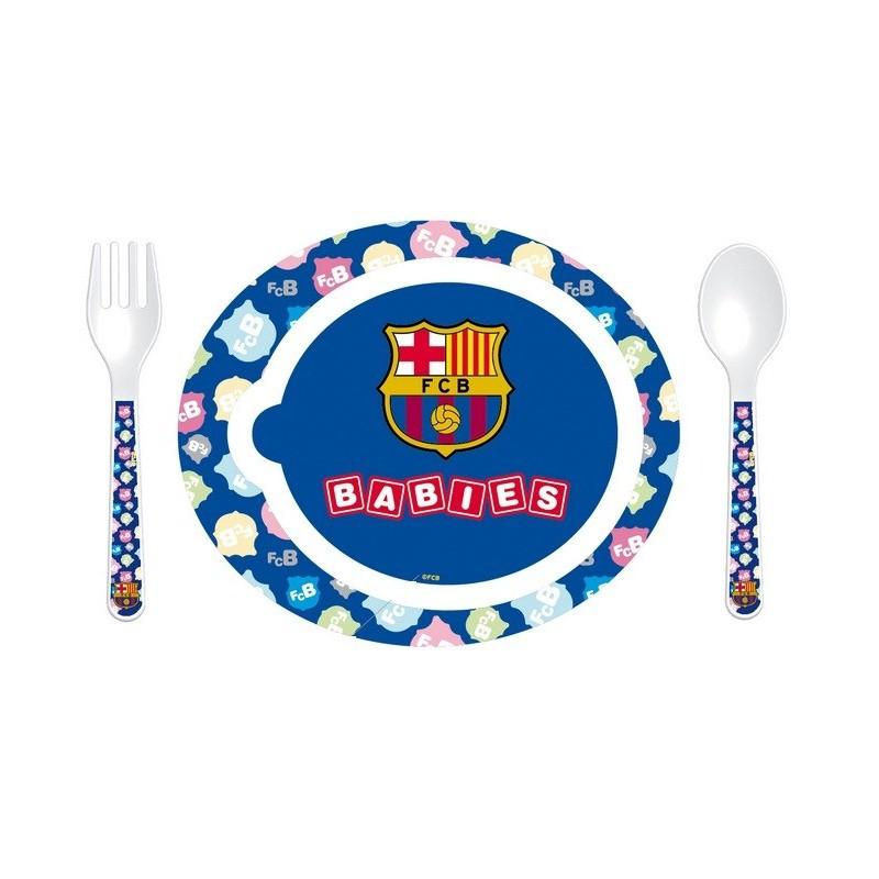 vajilla bebe del f tbol club barcelona