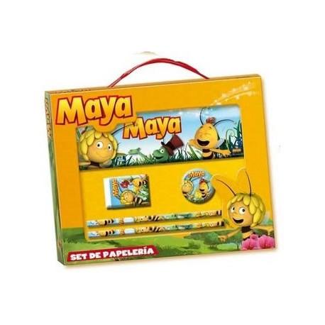 Set papelería Abeja Maya