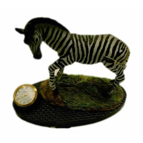 Figura Cebra Reloj