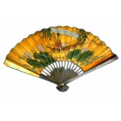 Juego de abanicos chinos con pies de madera modelo B