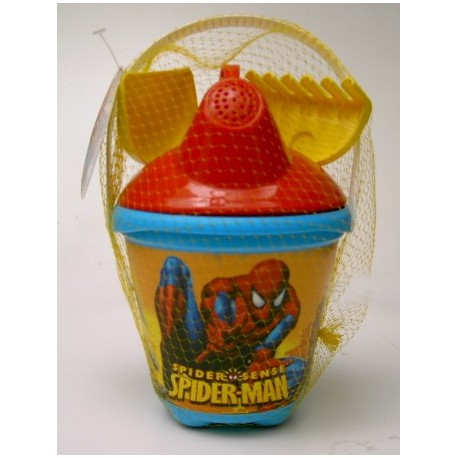 Cubo de playa Spiderman