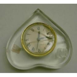 Reloj metacrilato forma corazón