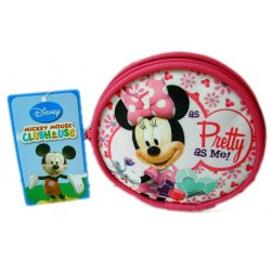 Monedero circular Minnie Mouse