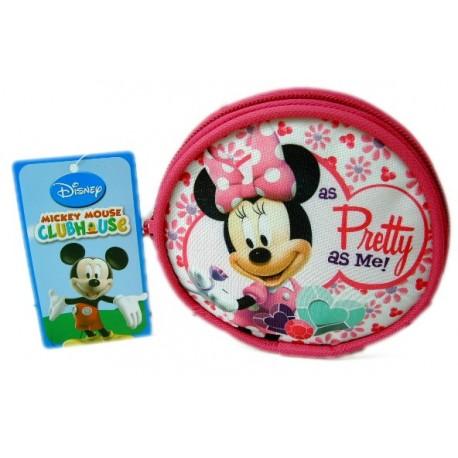 Monedero circular Minnie Mouse