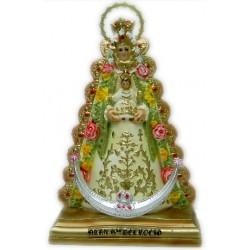 Figura Nuestra Señora Virgen del Rocío 39cm