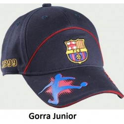Gorra Junior Fútbol Club Barcelona