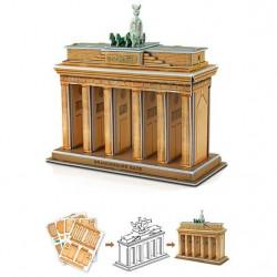 Puzzle 3D puerta Brandenburgo Alemania