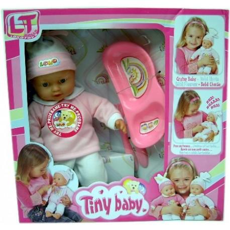 Muñeco bebé llorón