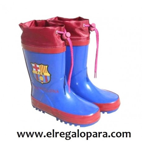 Botas de agua del FC Barcelona - tienda comprar originales del Fc Barcelona