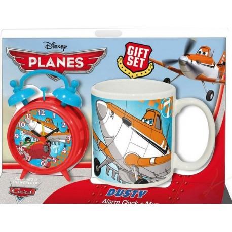 Reloj despertador y taza Dusty Planes Disney - tienda productos oficiales Planes