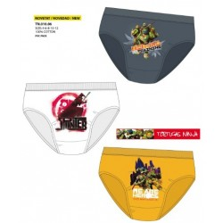 Calzoncillos Slip Tortugas Ninja - Comprar Tortugas Ninja original