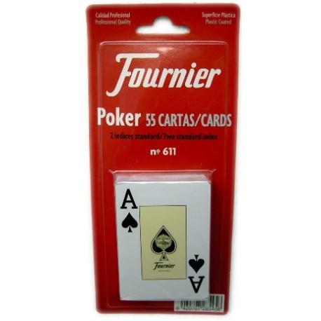 Juego de cartas Poker Fournier