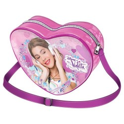 Bolso Violetta Disney corazón