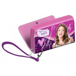 Billetera Violetta Disney