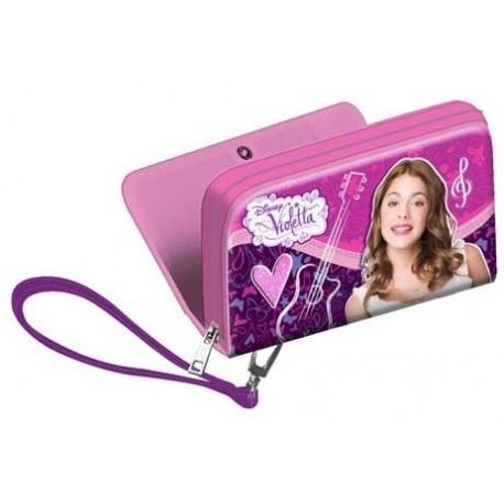 Billetera Violetta Disney