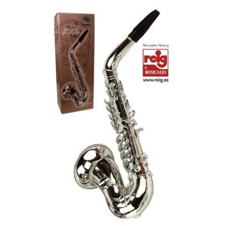 Saxofón de juguete emite varios sonidos