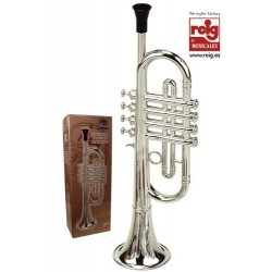 Trompeta de juguete emite varios sonidos