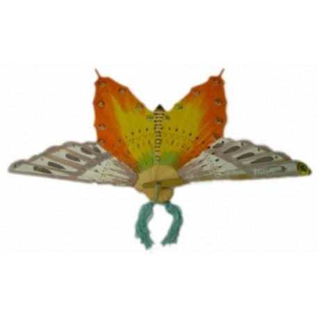 Abanico forma mariposa