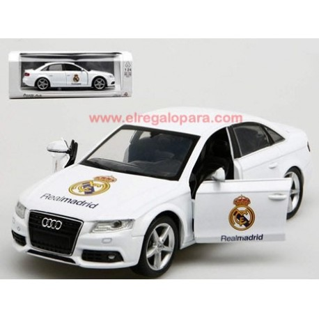 Audi A4 Real Madrid escala 1:24 Newray