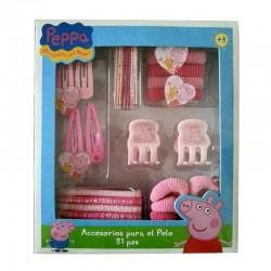 Peppa Pig conjunto accesorios para el pelo 31 piezas