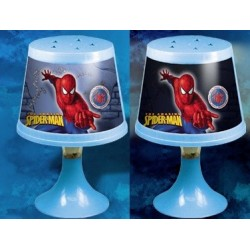 Lampara Spiderman cambia de color