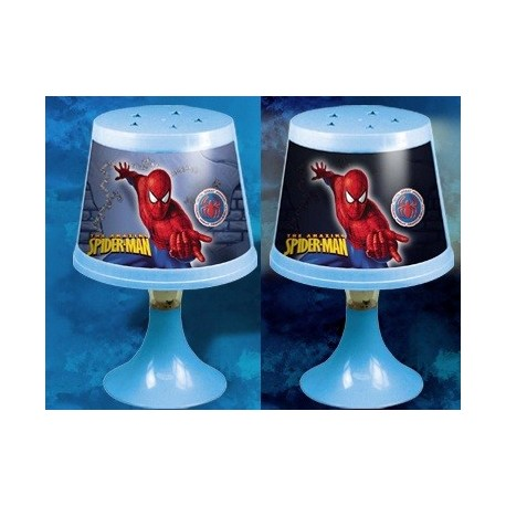 Lampara Spiderman cambia de color