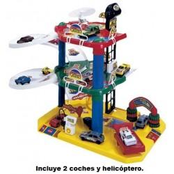 Aparcamiento K-2 para coches de juguete