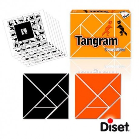 Juego Tangram competition Diset